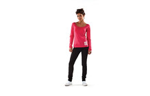 Mons Royale Women Scoop Long Sleeve pink
